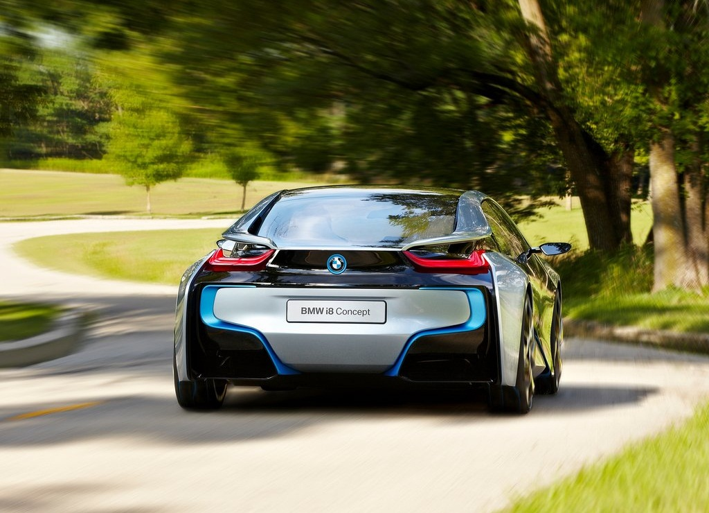 2011 BMW I8 Concept Behind (View 5 of 10)