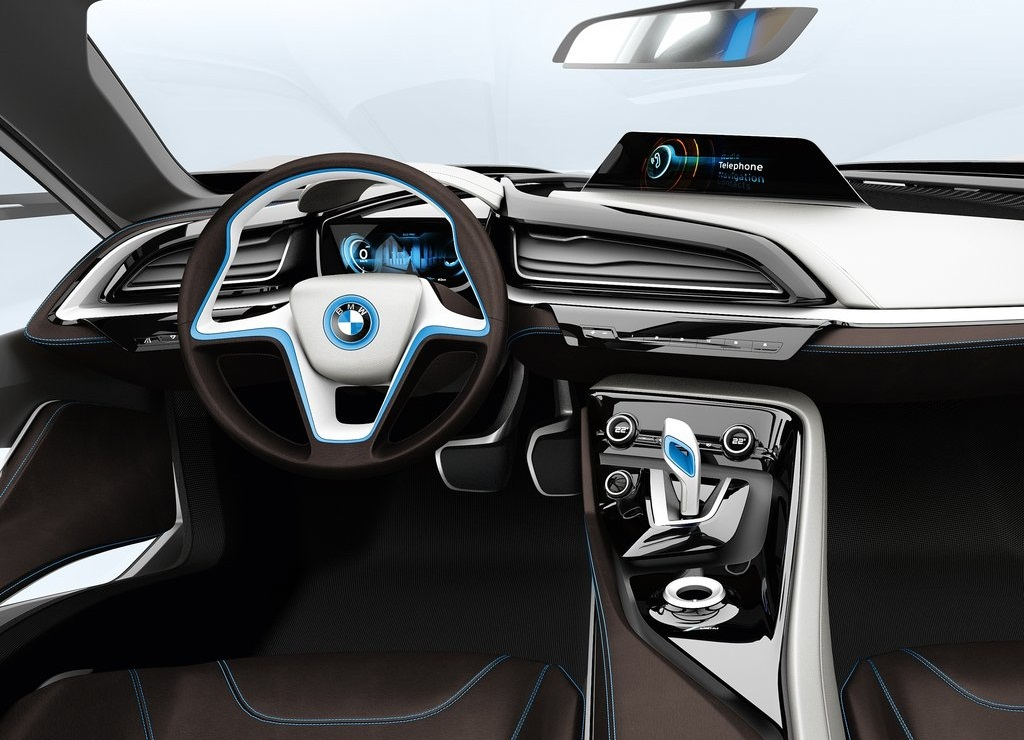 2011 BMW I8 Concept Interior (View 6 of 10)