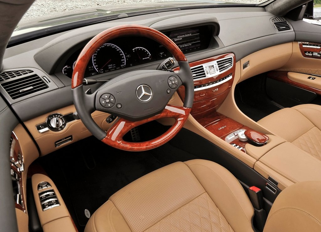 2011 Mercedes Benz CL65 AMG Interior (Photo 5 of 9)