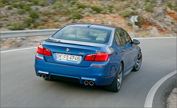 2012 BMW M5 (View 9 of 9)