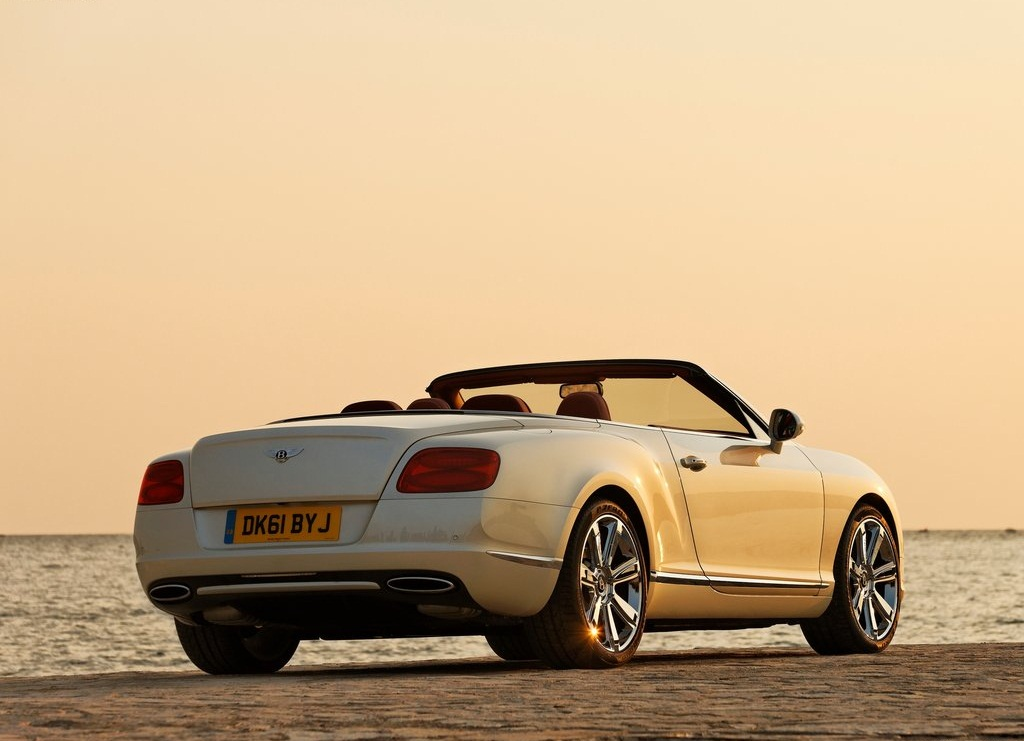 2012 Bentley Continental GTC Behind (View 1 of 7)