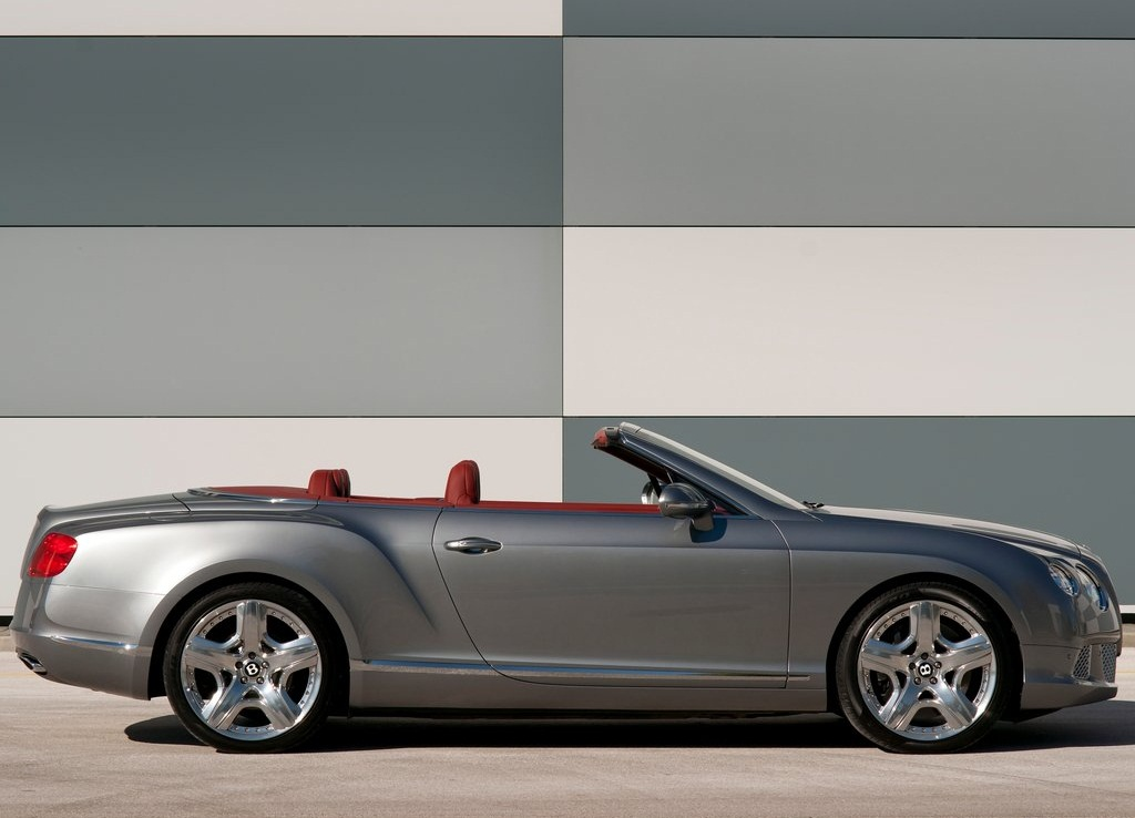 2012 Bentley Continental GTC Side (Photo 5 of 7)