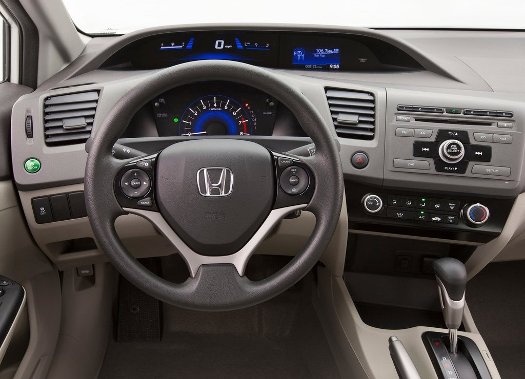 2012 Honda Civic HF Interior (Photo 5 of 7)