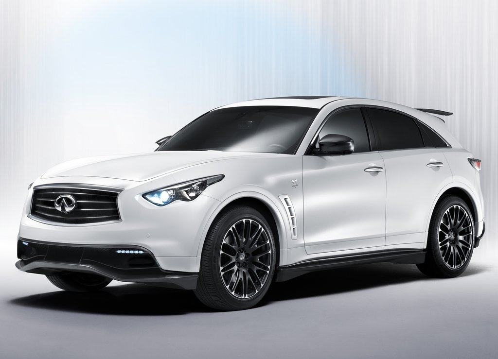 Featured Image of 2012 Infiniti FX Sebastian Vettel Sport Super Car Concept