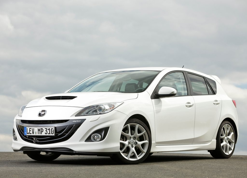 Featured Image of 2012 Mazda 3 MPS Aerodynamic Sporty Concept
