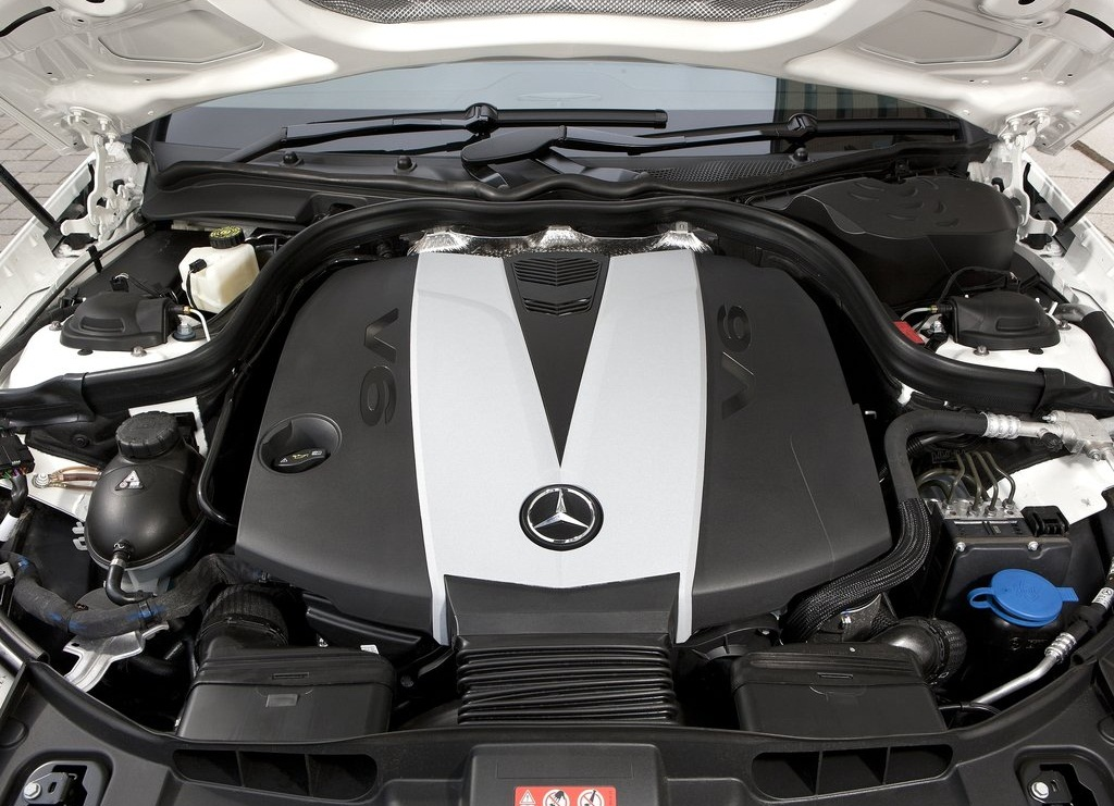 2012 Mercedes Benz CLS350 CDI Engine (Photo 2 of 10)