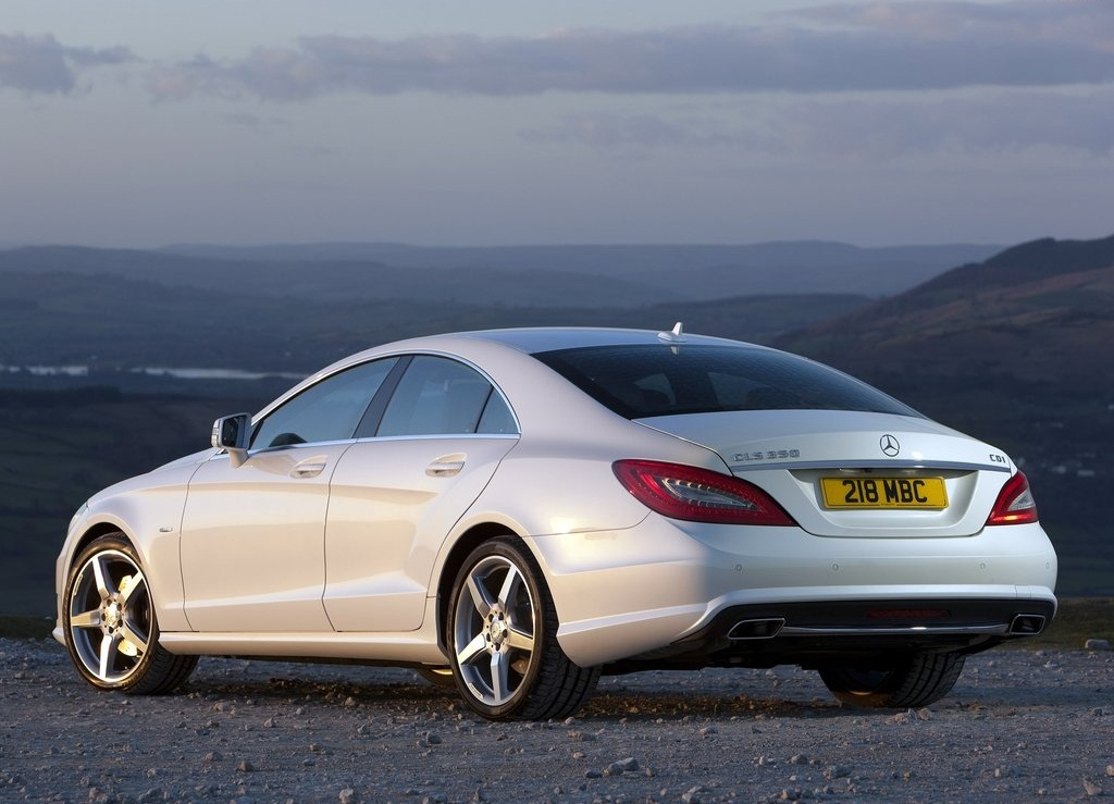 2012 Mercedes Benz CLS350 CDI Rear (Photo 7 of 10)