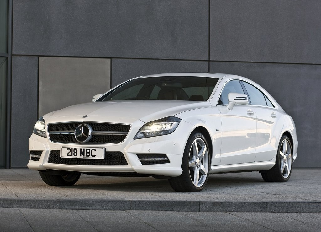 Featured Image of 2012 New Mercedes CLS350 CDI Dynamic Elegant Concept