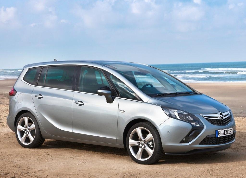 2012 Opel Zafira Tourer Futuristic And Dynamic Design Concept Cars