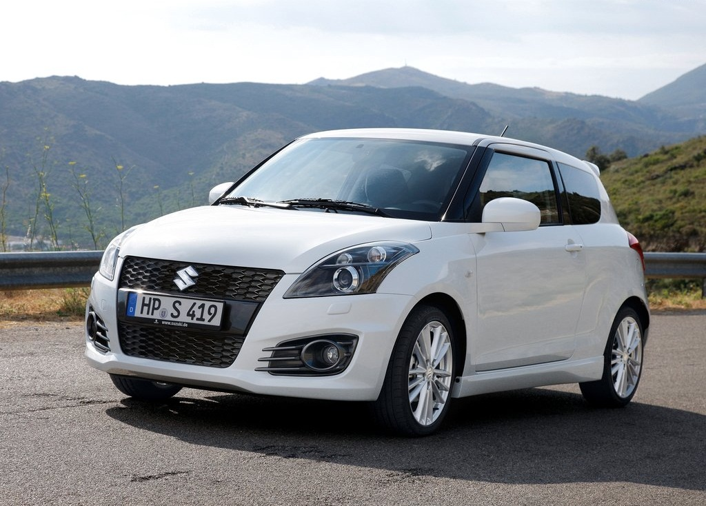 Featured Image of 2012 Suzuki Swift Sport Aggressive Design Concept
