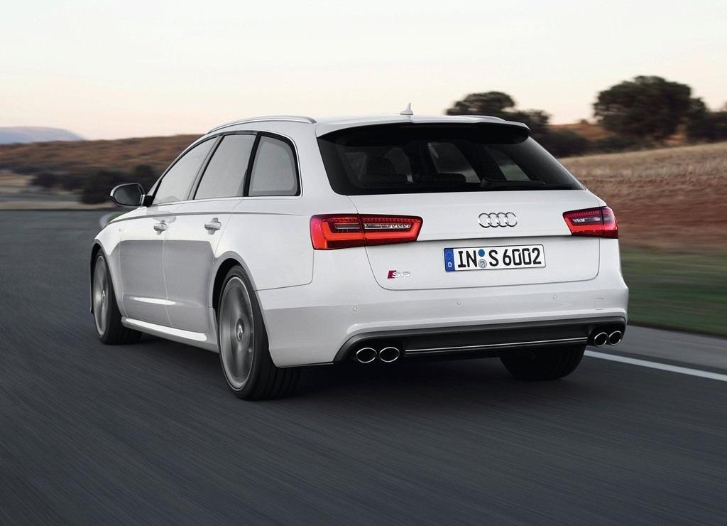 2013 Audi S6 Avant Rear (Photo 8 of 8)