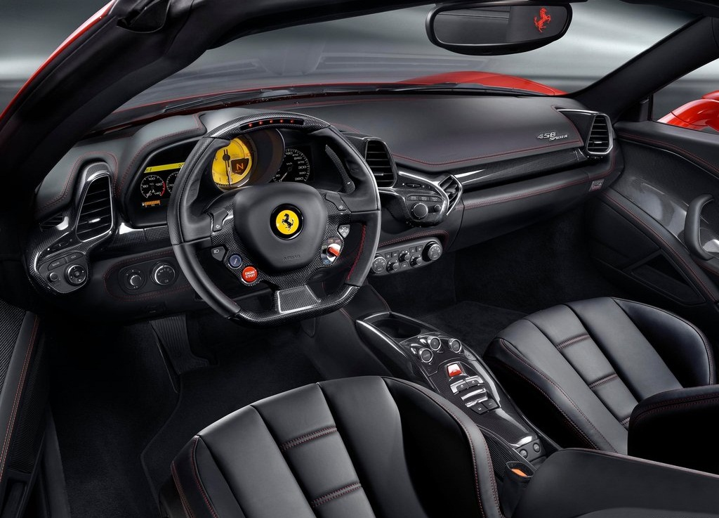 2013 Ferrari 458 Spider Interior (View 8 of 8)