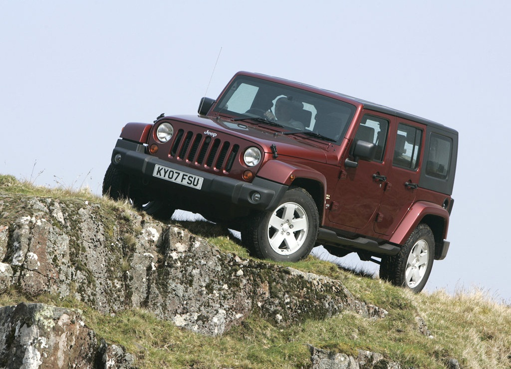 Jeep Wrangler Unlimited UK Version  (Photo 2 of 9)