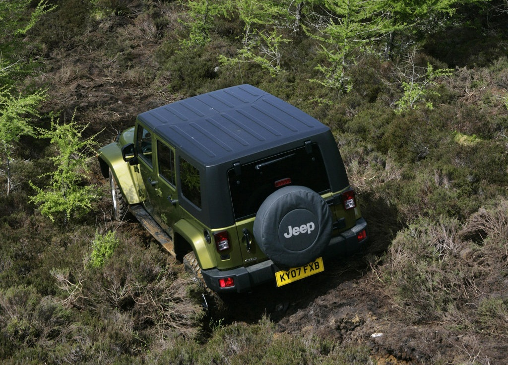 Jeep Wrangler Unlimited UK Version  (View 3 of 9)