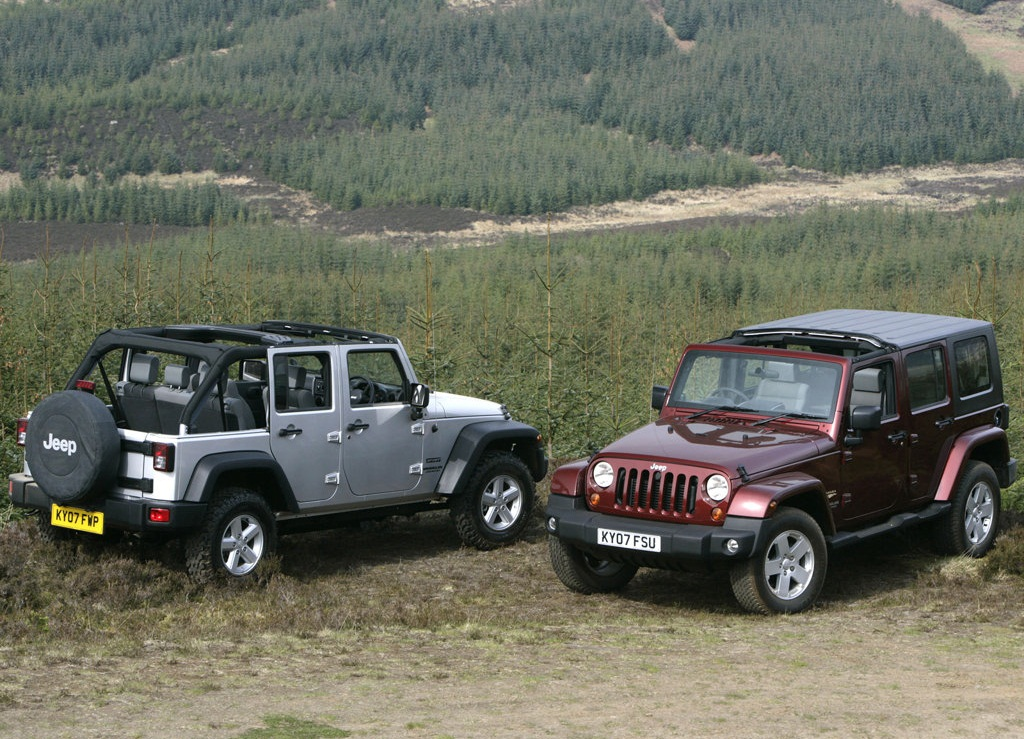 Jeep Wrangler Unlimited UK Version  (View 4 of 9)