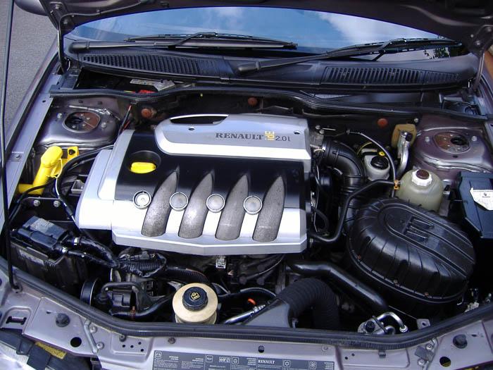 Двигатель на рено меган 1.4