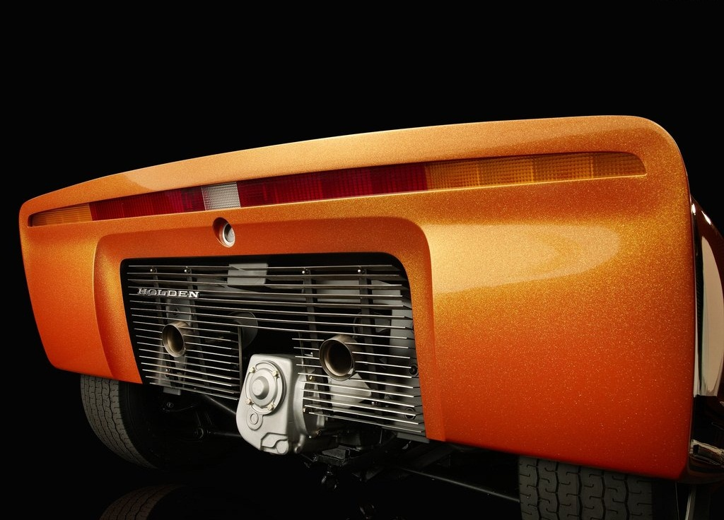 1969 Holden Hurricane Concept Rear (Photo 6 of 8)