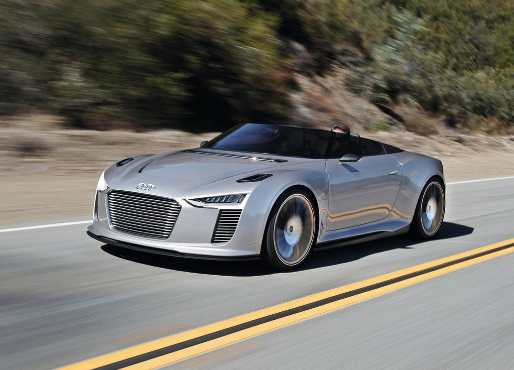 2010 Audi e-tron Spyder Review Pictures Gallery (9 Images)