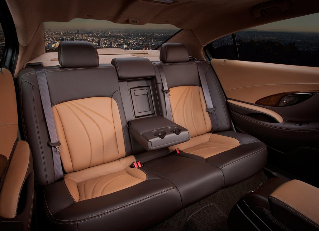 2011 Buick LaCrosse GL Concept Back Interior (View 2 of 6)