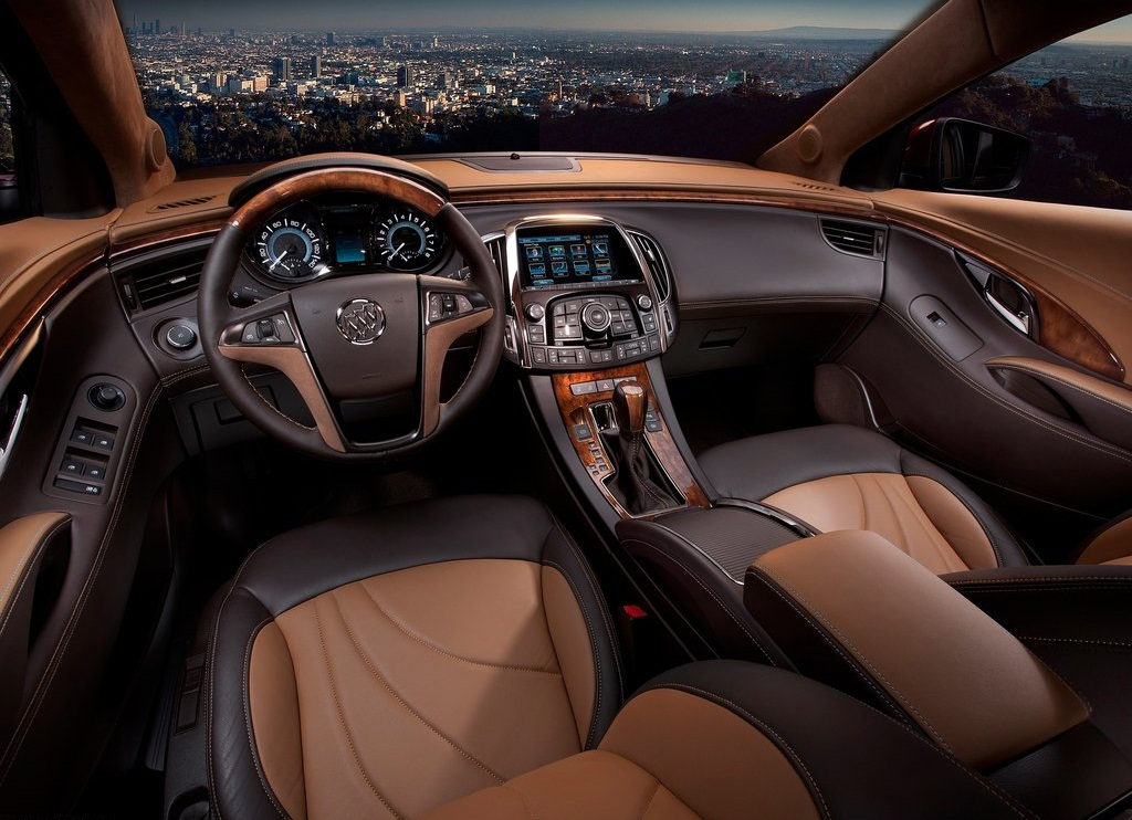 2011 Buick LaCrosse GL Concept Interior (View 3 of 6)