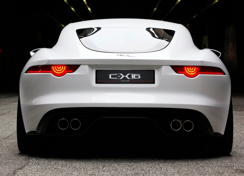 2011 Jaguar C X16 Concept Rear (View 4 of 9)