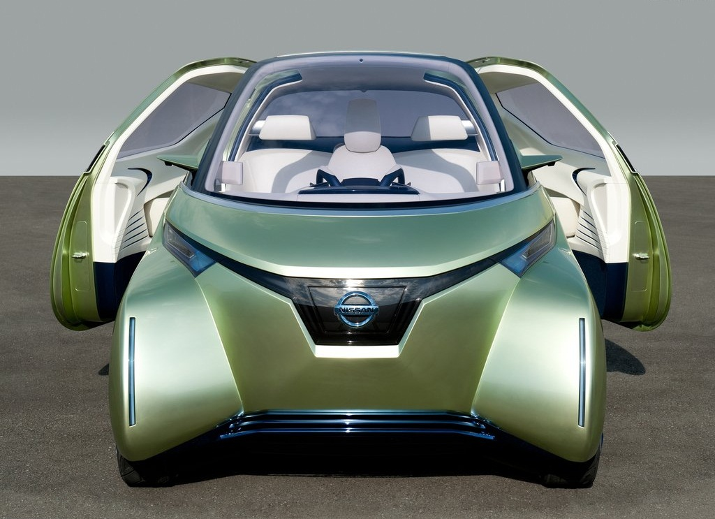 2011 Nissan Pivo 3 Concept Front (Photo 4 of 8)