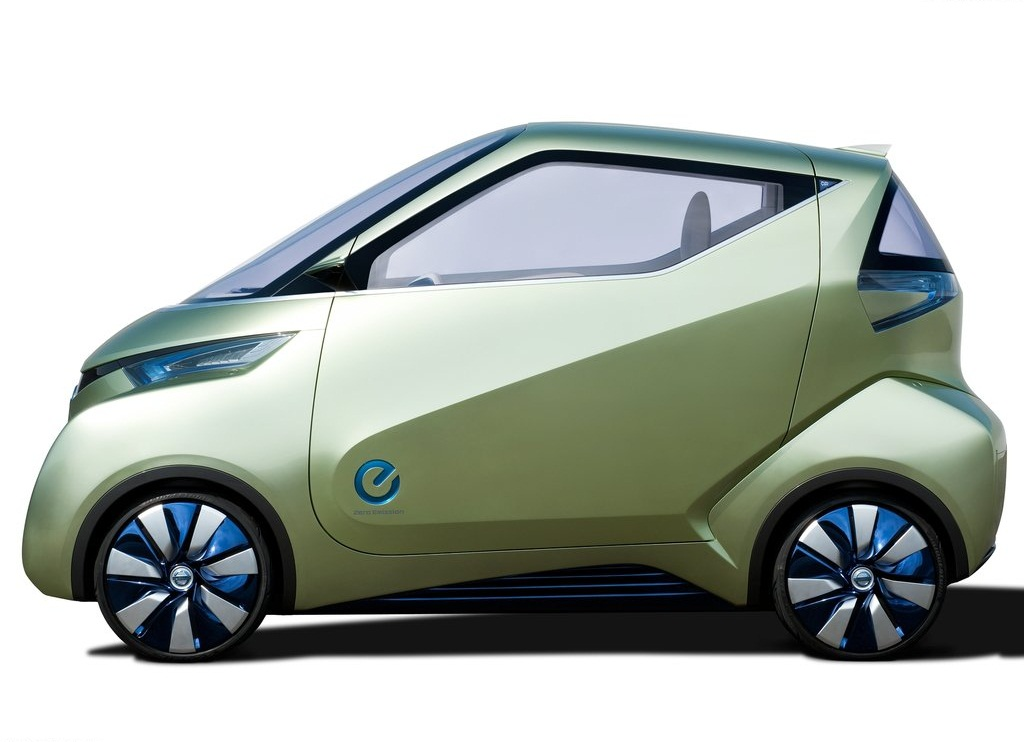 2011 Nissan Pivo 3 Concept Side (Photo 8 of 8)