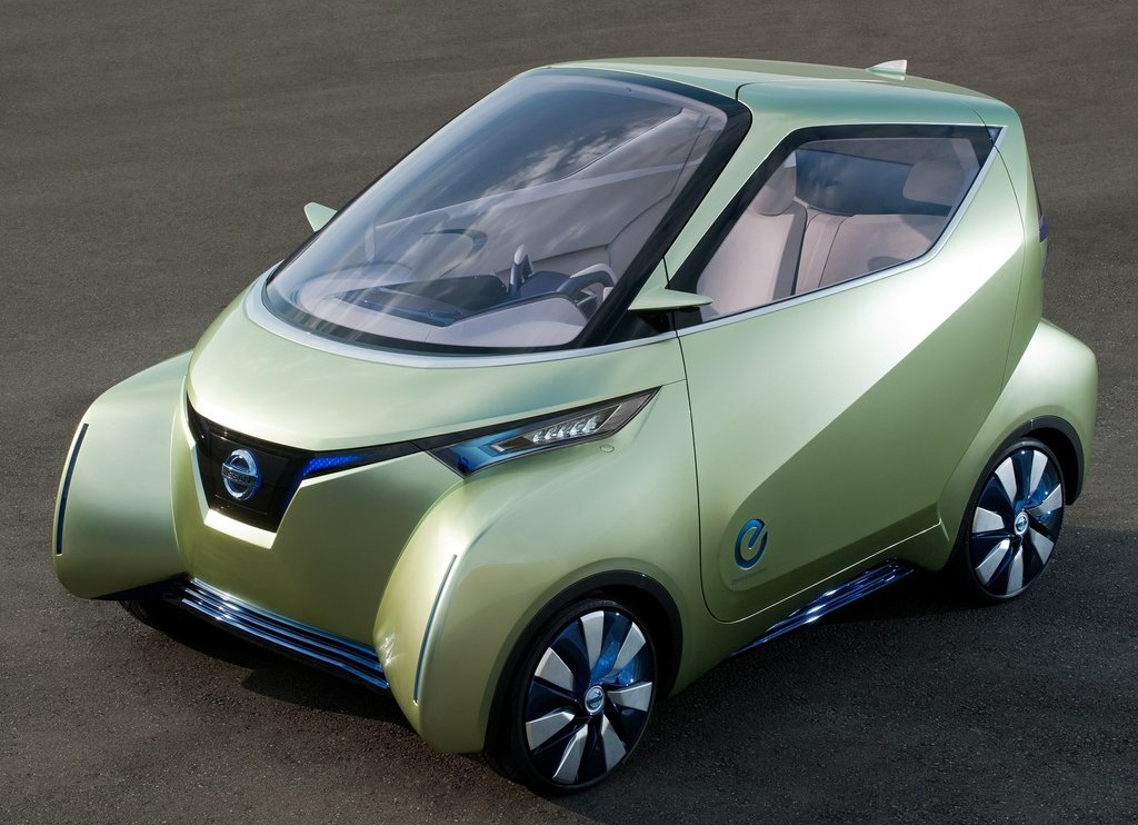 Featured Image of 2011 Nissan Pivo 3 Unique Minimalist Concept Review