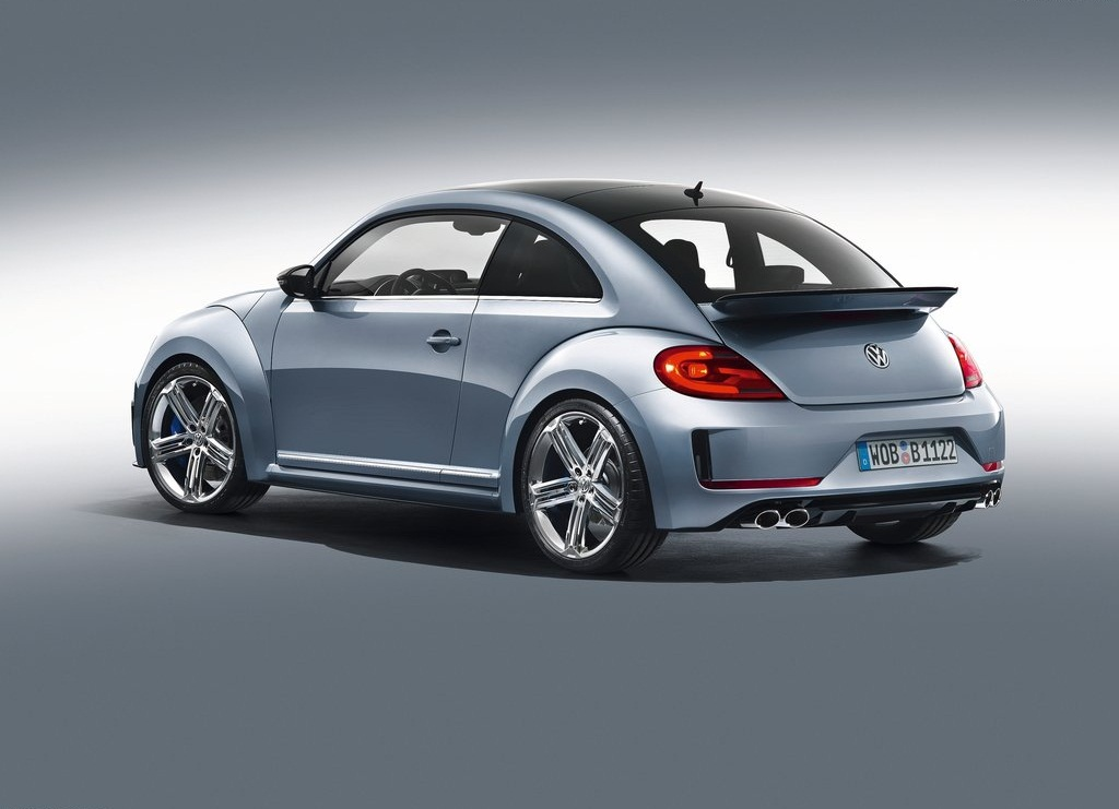 2011 Volkswagen Beetle R Concept Rear (View 1 of 5)