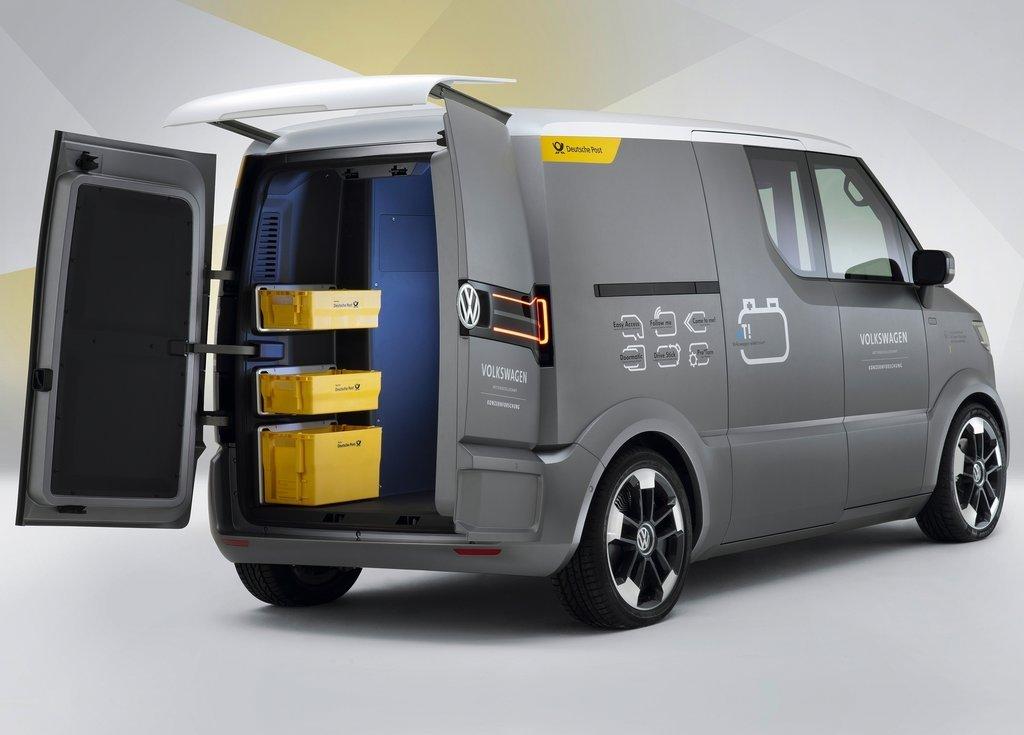 2011 Volkswagen ET Concept Rear (Photo 5 of 5)
