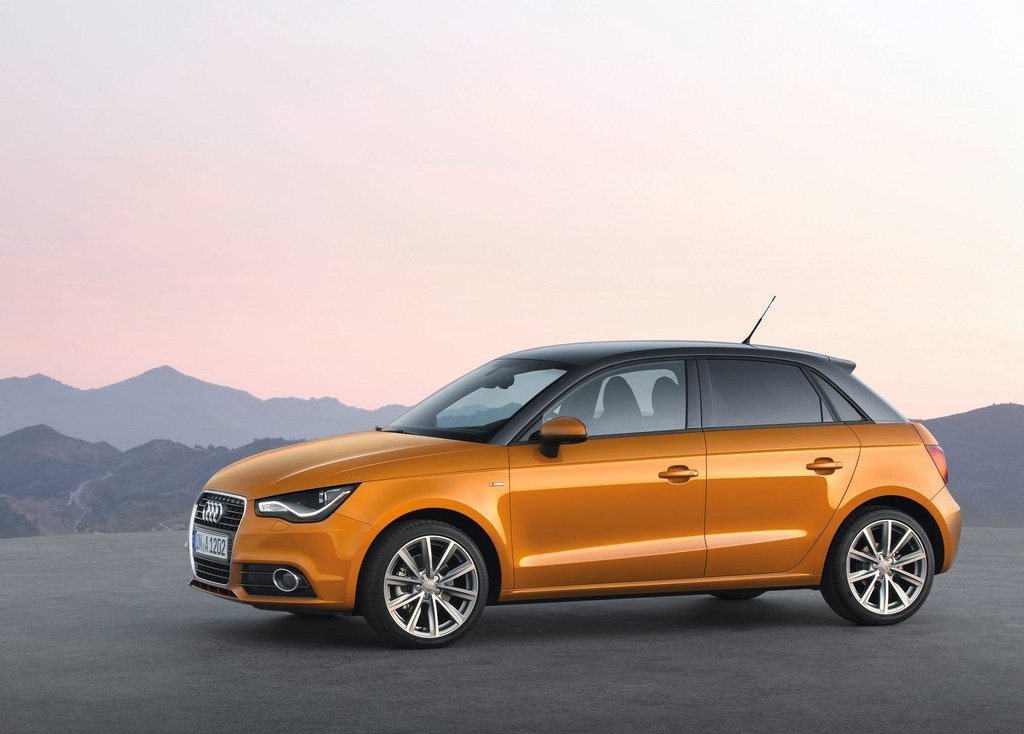 2012 Audi A1 Sportback Left Side (View 3 of 8)