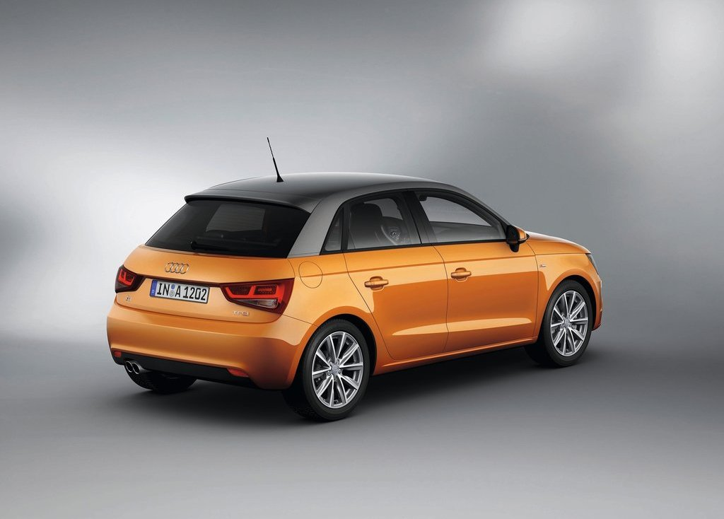 2012 Audi A1 Sportback Rear (Photo 5 of 8)