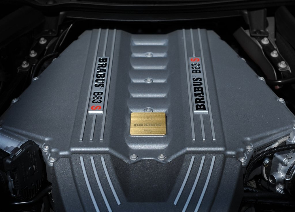 2012 Brabus Mercedes Benz SLS AMG Roadster Engine (Photo 2 of 9)