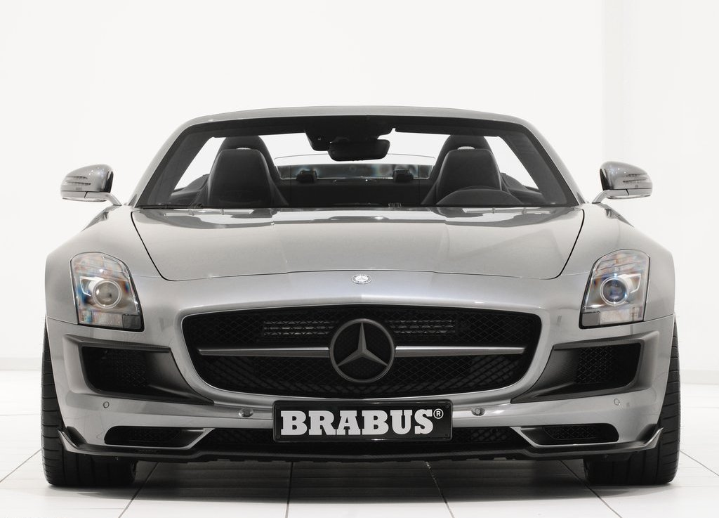 2012 Brabus Mercedes Benz SLS AMG Roadster Front (Photo 3 of 9)
