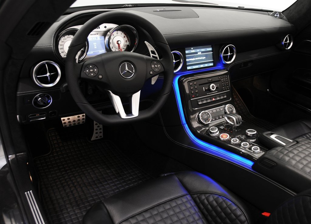 2012 Brabus Mercedes Benz SLS AMG Roadster Interior (Photo 5 of 9)