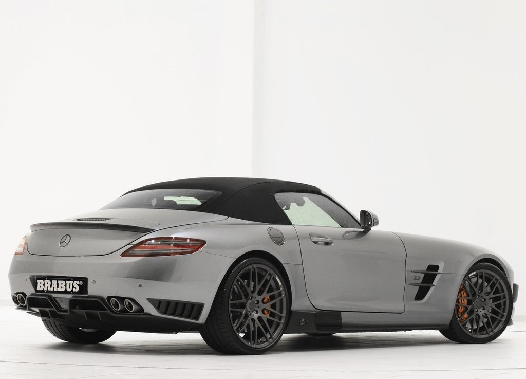 2012 Brabus Mercedes Benz SLS AMG Roadster Rear Side (Photo 7 of 9)
