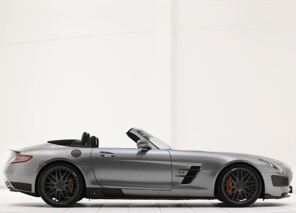 2012 Brabus Mercedes Benz SLS AMG Roadster Right Side (Photo 8 of 9)