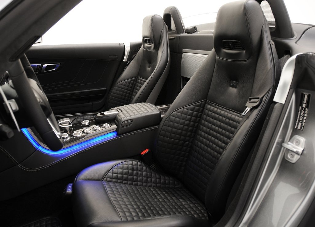 2012 Brabus Mercedes Benz SLS AMG Roadster Seat (Photo 9 of 9)