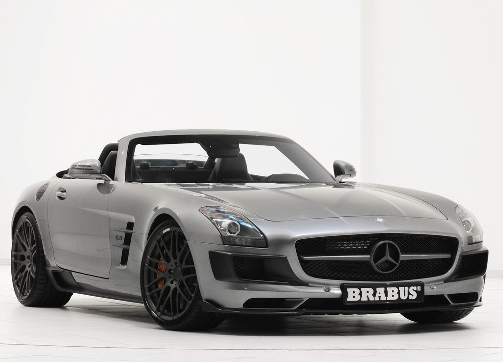 Featured Image of 2012 Brabus Mercedes Benz SLS AMG Roadster Review