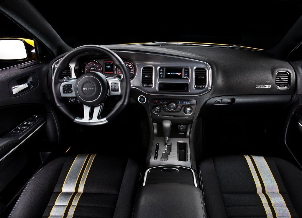 2012 Dodge Charger SRT8 Super Bee Interior (Photo 6 of 10)