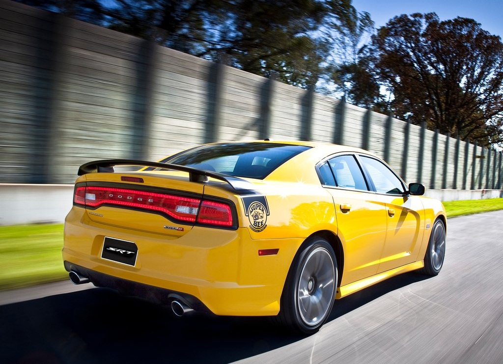 2012 Dodge Charger SRT8 Super Bee Rear (Photo 7 of 10)