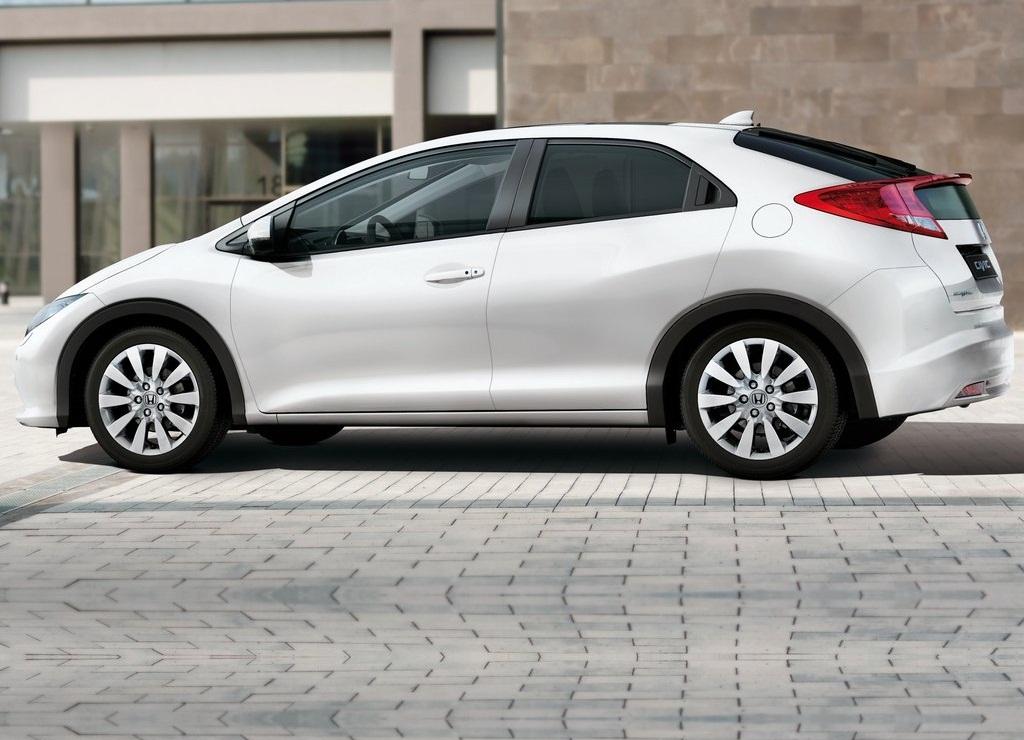 2012 Honda Civic EU Version Side (View 9 of 11)