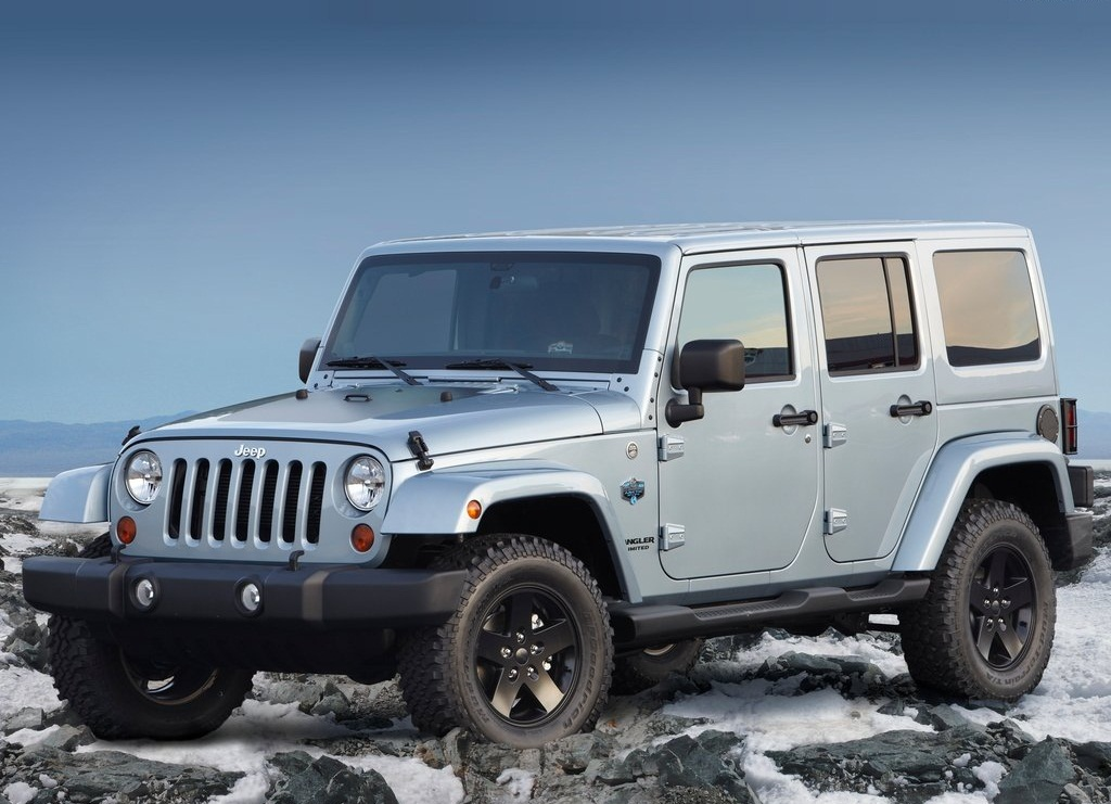 2012 Jeep Wrangler Arctic Winter Theme Pictures Gallery (6 Images)