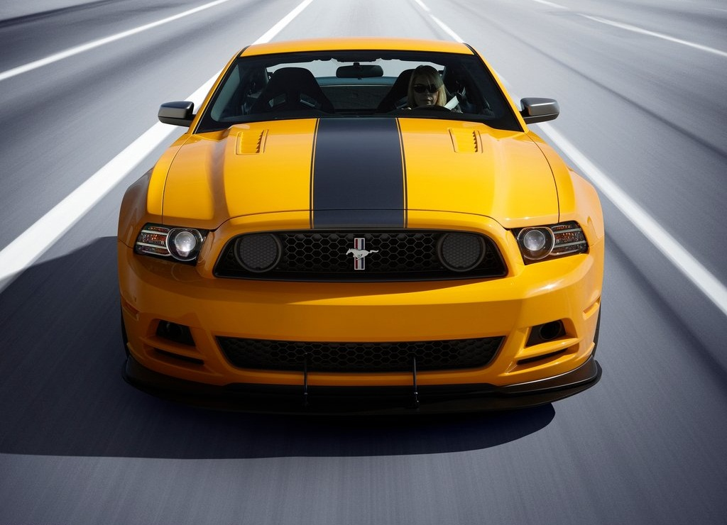 2013 Ford Mustang Boss 302 Front (View 2 of 7)