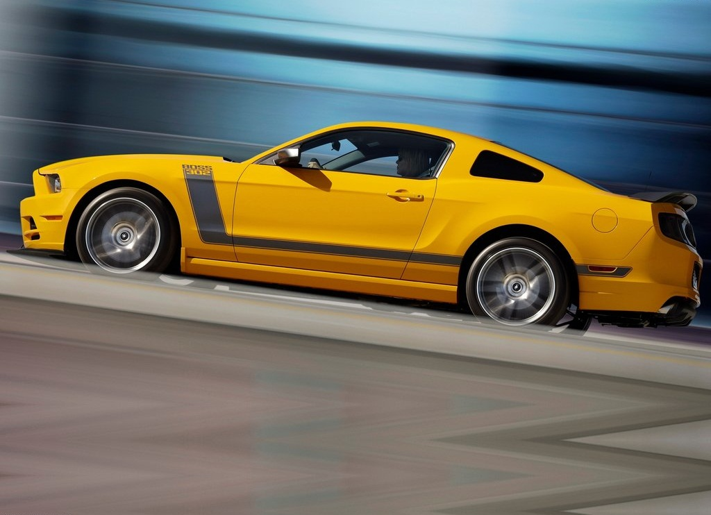 2013 Ford Mustang Boss 302 Left Side (View 3 of 7)