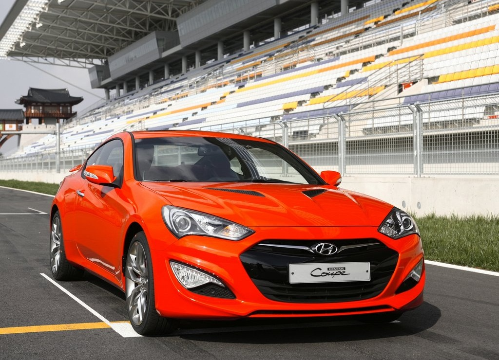 2013 Hyundai Genesis Coupe Front (Photo 2 of 3)