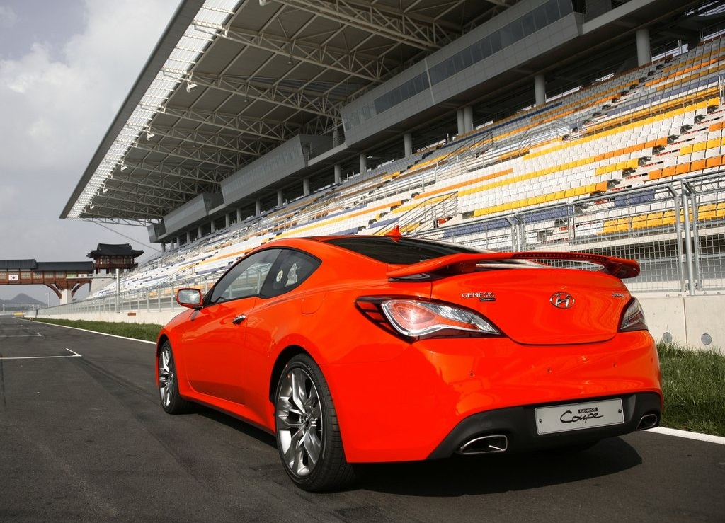 2013 Hyundai Genesis Coupe Rear (View 2 of 3)