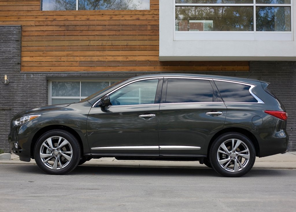 2013 Infiniti JX Side (View 5 of 9)