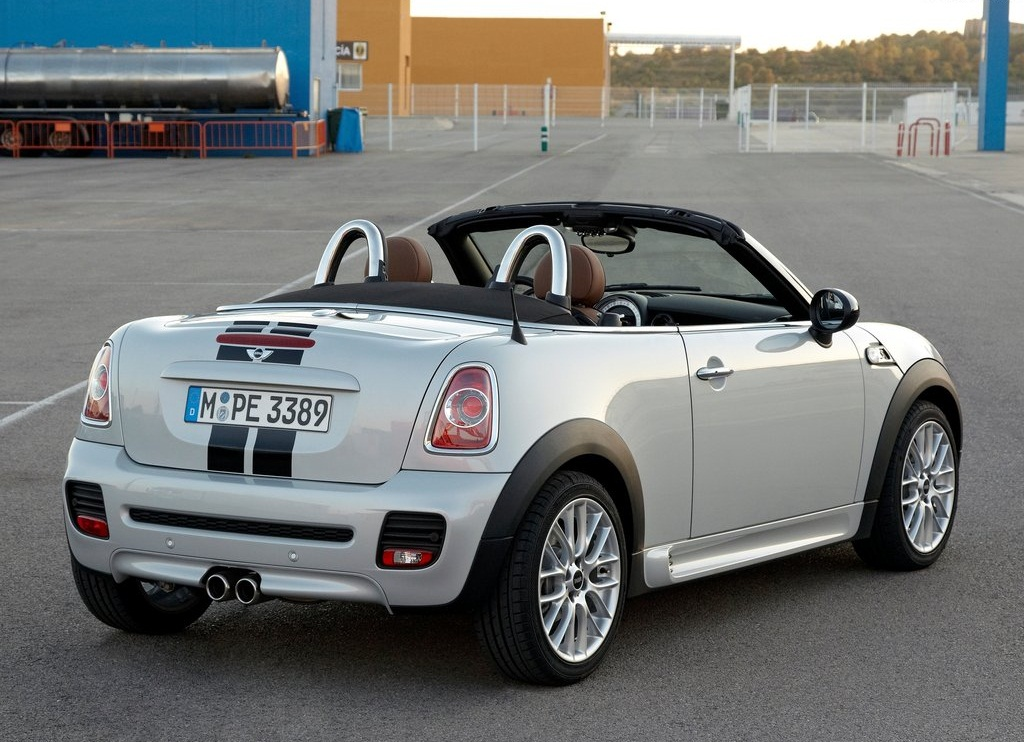 2013 Mini Roadster Rear (View 7 of 10)