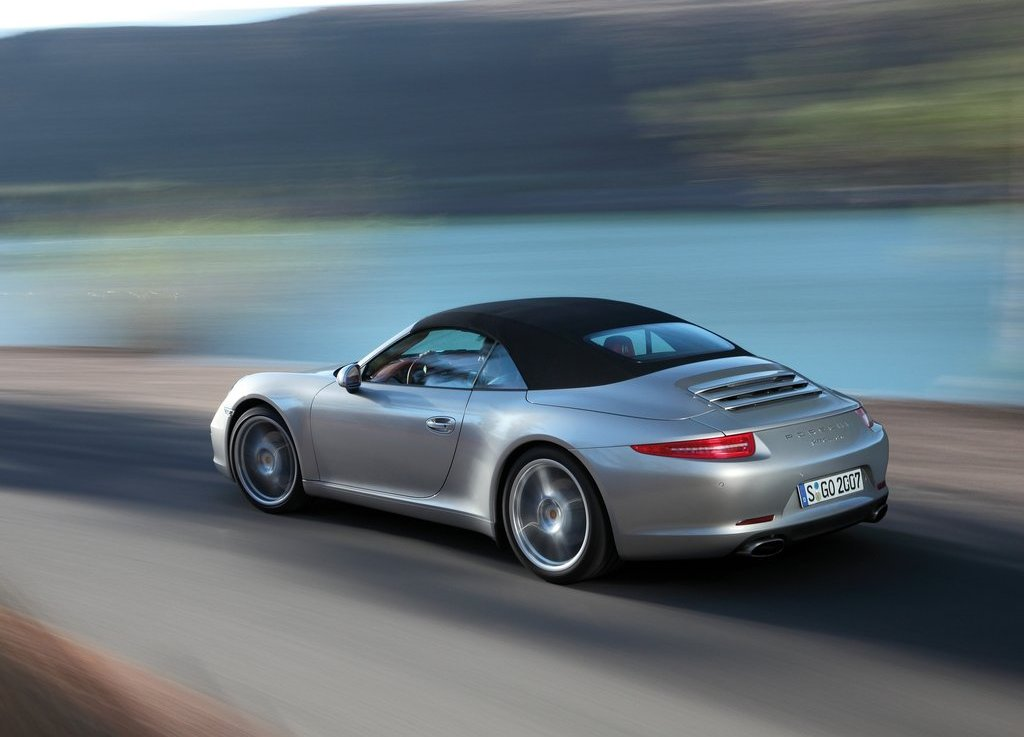 2013 Porsche 911 Carrera Cabriolet Left Side (Photo 3 of 5)
